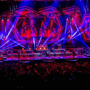 Trans-Siberian Orchestra stage view