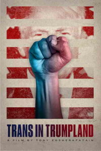 """""""Trans in Trumpland"""" poster"""