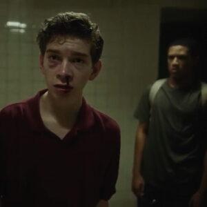 Sam and Josh in lockerrom