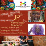 Online Event: Virtual Cooking With JP: Drag Edition With Harmonica Sunbeam