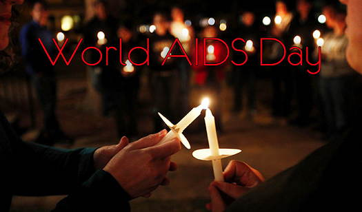 World AIDS Day candlelight vigil